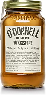 "O""Donnell Moonshine ""Harte Nuss"" Likör 700 ml I Natürliche Zutaten I Vegan I Premium Haselnuss Schnaps nach Amerikanischer Tradition I 25% Vol. Alkohol"
