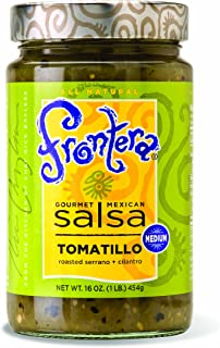 Frontera Tomatillo Salsa, 16-Ounce Units (Pack of 6)