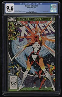 Uncanny X-Men #164 CGC 9.6 White Pages 12/1982 Carol Danvers Becomes Binary