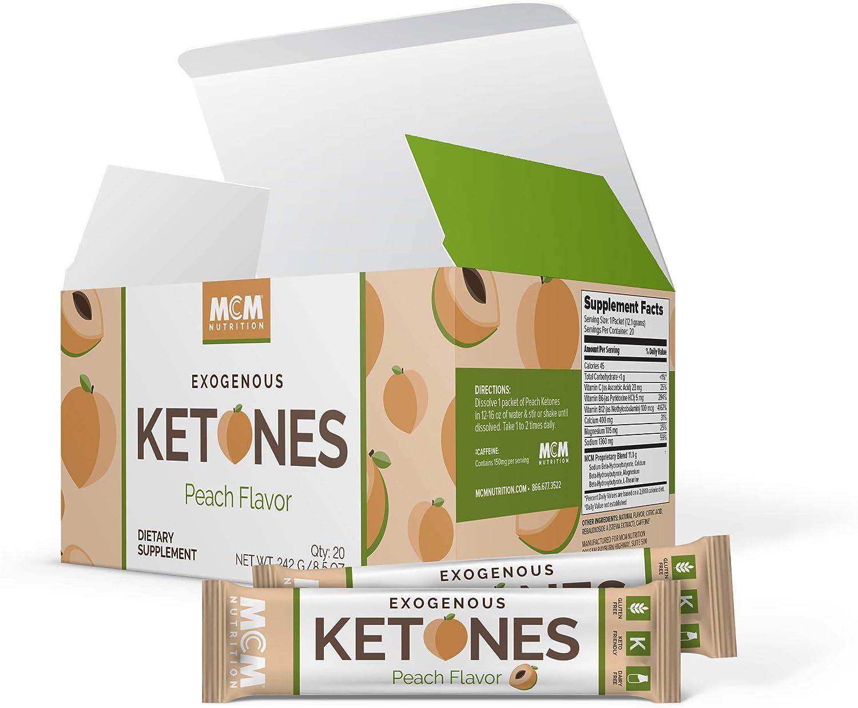 Exogenous Ketones Powder BHB Peach Ketone Drink - Sales Sacramento Mall Ketosi for