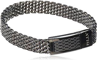 Black Stainless Steel 316L Bracelet for Men…