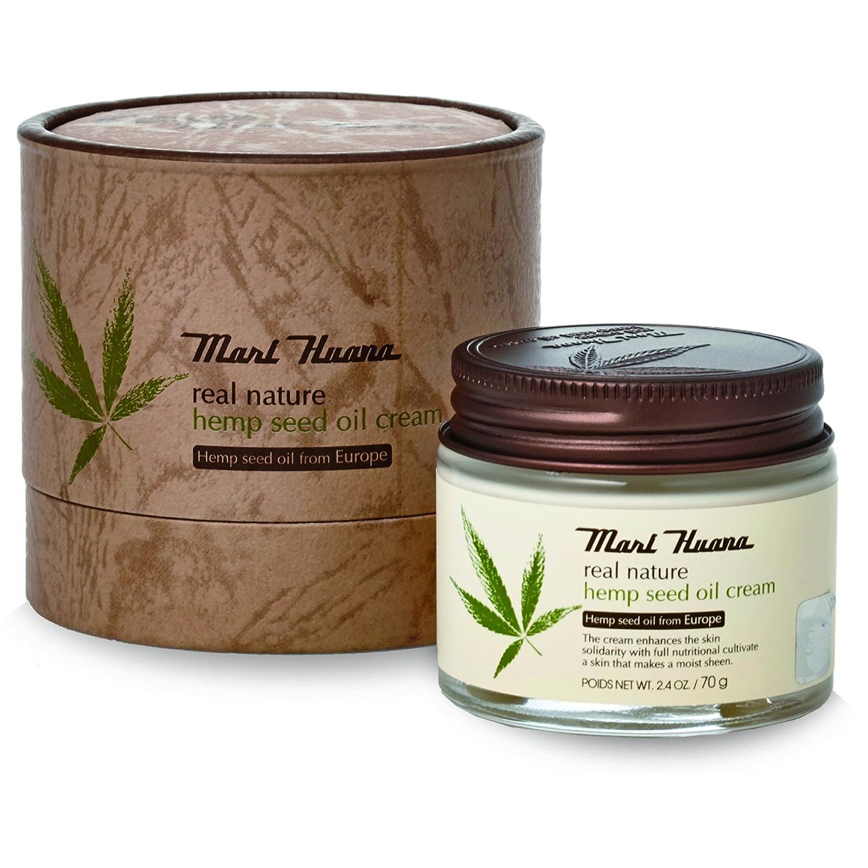 待って鉄道駅試験[訳有り?OUTLET] Marihuana Real Natural Hemp Seed Oil Cream マリーフアナ リアルナチュラルヘンプシードオイルクリーム [並行輸入品]