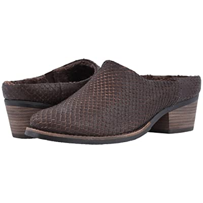 Walking Cradles Greer (Brown Cut Snake Print Leather) Women