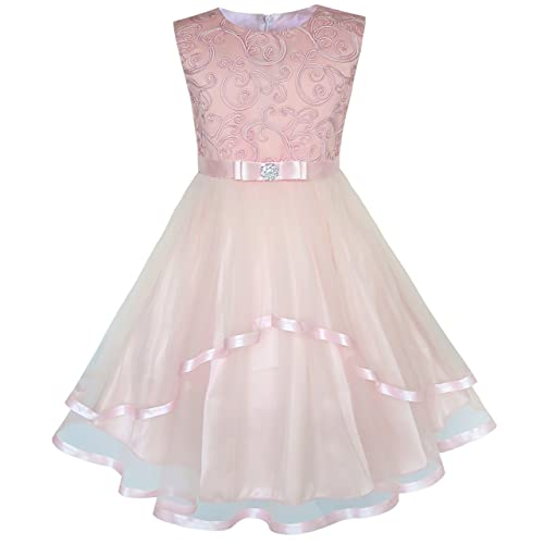 Pink Flower Girl Dresses Amazon