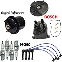 Tune Up KIT Wire Spark Plugs Fuel Filter for Honda Civic 1.6L 1995-2000