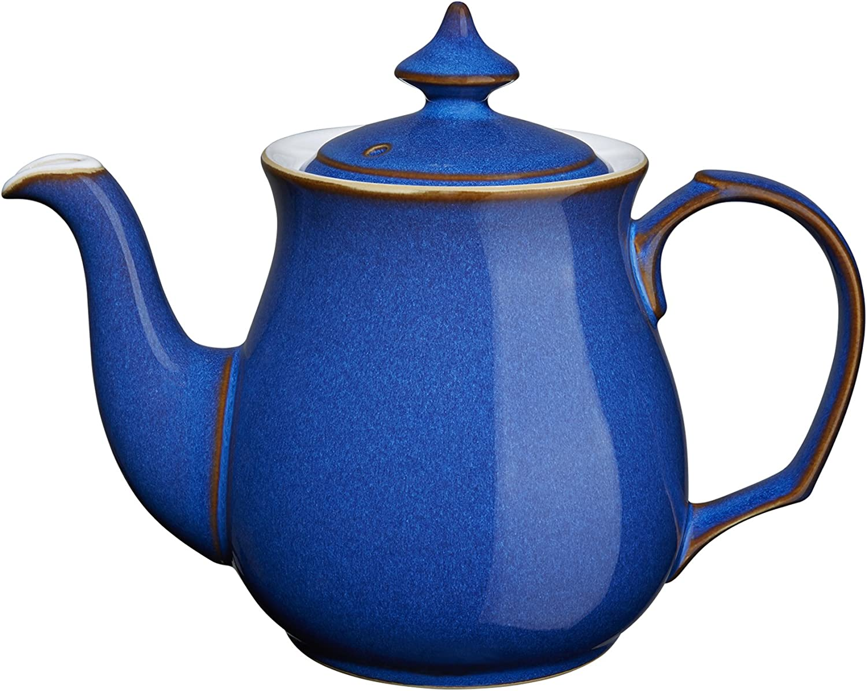 Denby Imperial Imperial Imperial Blau Große Teekanne, 1 l B0006BCB78 f95c0e