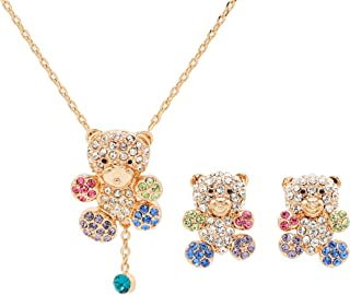 Best teddy bear necklace and bracelet set Reviews