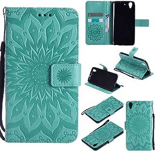 pinlu® Flip Funda de Cuero para Huawei Y6 II/Honor 5A