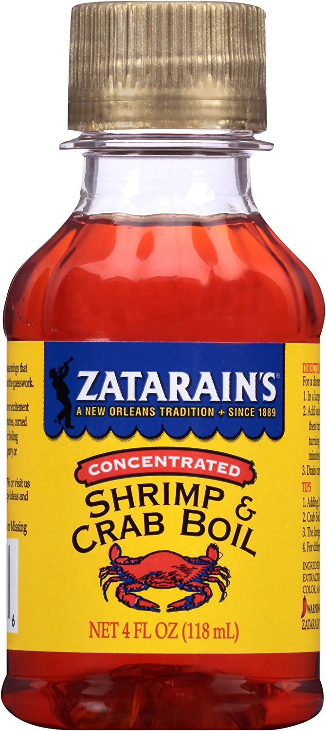 Zatarain's Concentrated Shrimp Crab Boil Popular shop Japan's largest assortment is the lowest price challenge Pack of Oz 4 6