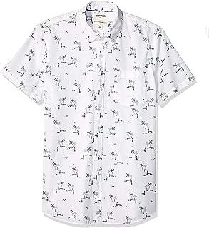 90s print button up shirt