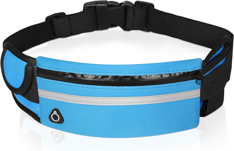 Slim Running Belt Selling rankings Multifunctional Zipper Pockets A surprise price is realized W