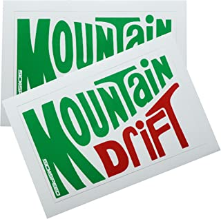 2Pc Mountain Drift Dew Soda Vinyl Sticker Decal Stickerbomb Bomb Funny Spoof for Ford Mustang