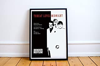 The Office - Threat Level Midnight Poster (unframed)