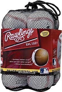 Rawlings Official League Recreational Use Baseballs Olb3bag12 Bag Of 12