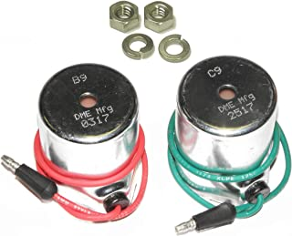 DME Manufacturing Meyer Snow Plow 2 Coil Set: B9, 15382 & C9, 15430, for E47, E57, E60 Pumps, Aftermkt, Optional 18-8 Stainless Steel Nuts Included