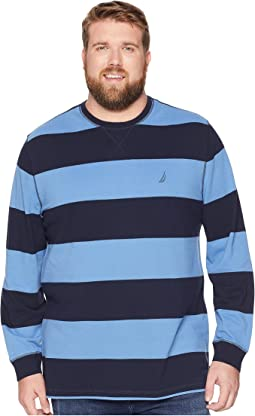 Big & Tall Rugby Stripe