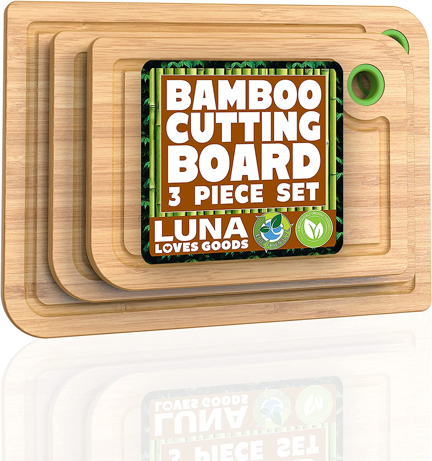 Bamboo Cutting Boards for Kitchen We OFFer at cheap prices - 3 Set wit 5 popular Board of