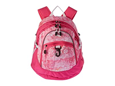 High Sierra Fat Boy Backpack (Effervescent/Flamingo) Backpack Bags