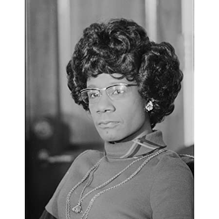 """Shirley Chisholm Photograph - Historical Artwork from 1973 - (8"""" x 10"""") - Matte"""