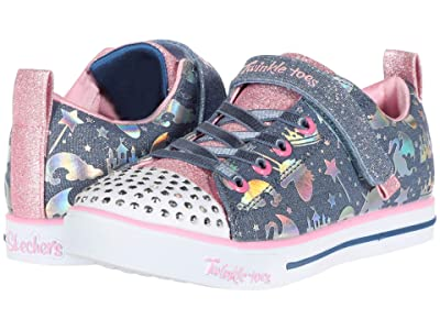 SKECHERS KIDS Twinkle Toes Sparkle Lite 314052L (Little Kid/Big Kid) (Light Blue/Multi) Girl