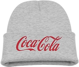 Kids Coca Cola Logo 85% Cotton Wool Hat Black