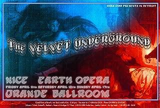 The Velvet Underground Nice Earth Opera Concert Poster 13