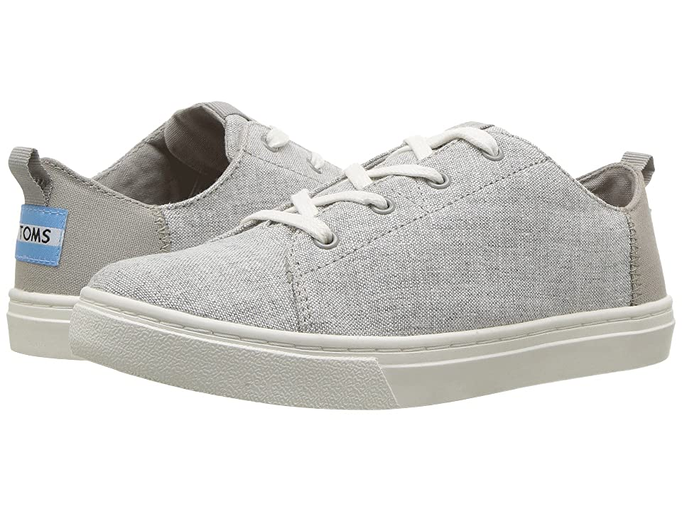 TOMS Kids Lenny (Little Kid/Big Kid) (Drizzle Grey Slub Chambray) Kid