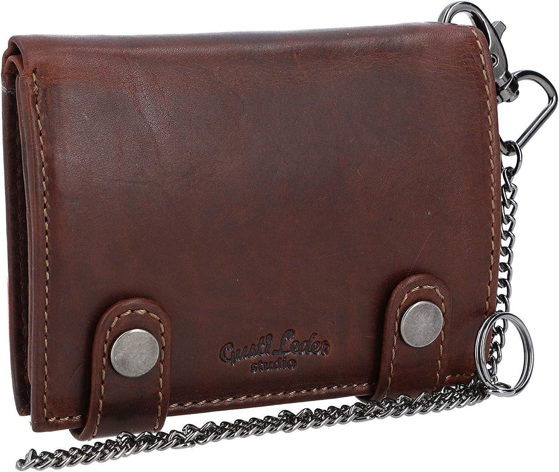 Gusti Wallets purse wallet Men/Mens Brown leather true leather - Ben