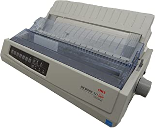 OKI 62411701 Microline 321 Turbo Dot Matrix Impact Printer