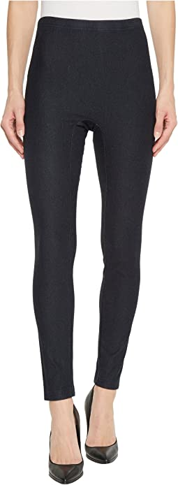 HUE - High-Waist Denim Shaping Leggings