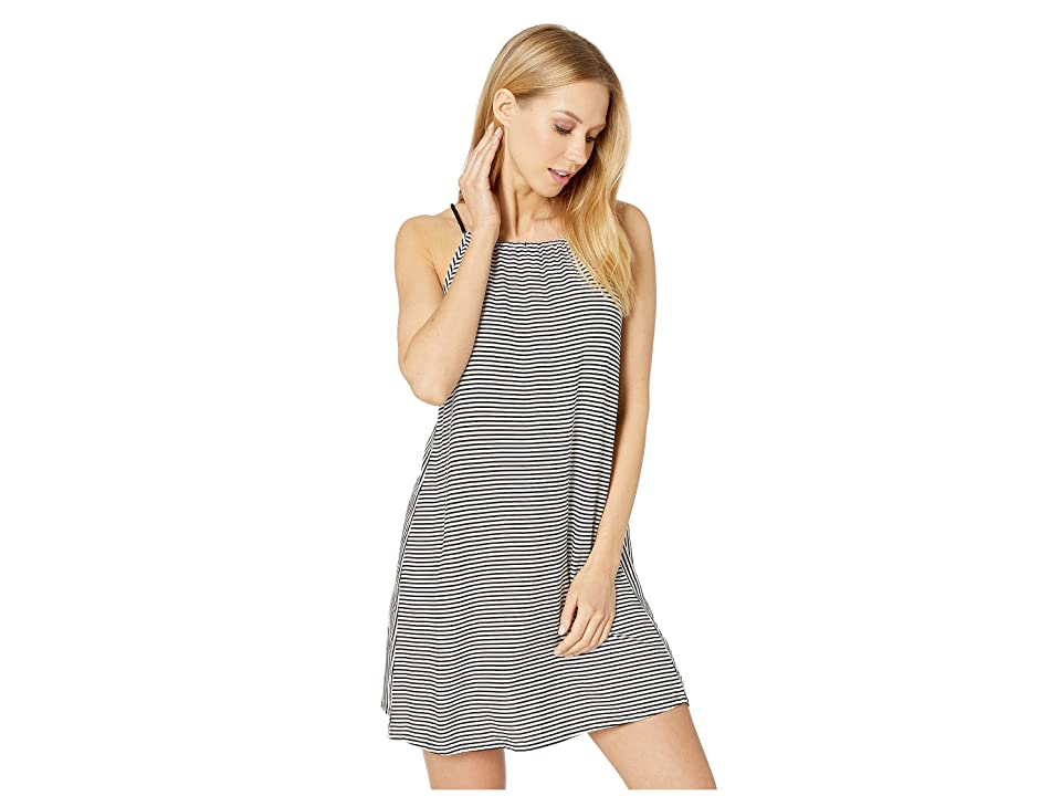 Roxy All About Queens Dress (Anthracite Cosy Stripes) Women