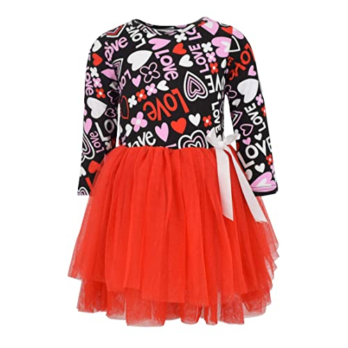 20756be26 Unique Baby Girls Valentine s Day Love and Heart Dress with Tutu