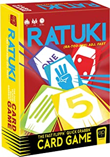 Ratuki   Quick Card Game Perfect for Family Game Night   Colorful Artwork Adorns This Easy Family Game   Great for Kids & Parents