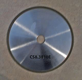 "Diamond Super Abrasive CBN 8"" Chainsaw Wheels (1"