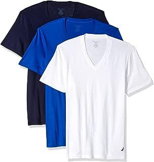 Men's Cotton V-Neck T-Shirt-Multi Packs