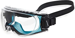 Encon Wraparound Veratti XPR36 Safety Glasses, Clear Lens, Blue Frame (Pack of 1)
