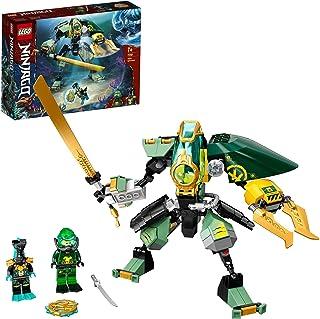 LEGO 71750 NINJAGO Lloyds Hydro-Mech, undervattensset, leksaker för barn från 7 år med 2 ninja minifigurer