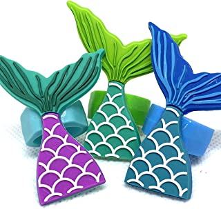 Mermaid Cupcake Toppers Cake Decorations Set of 15 from Blue Fox Baking