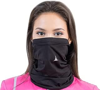 French Fitness Revolution Fleece Neck Warmer [Solids] / Reversible Neck Gaiter Tube, Ear Warmer Headband, Mask & Beanie. Ultimate Thermal Retention, Versatility & Style.