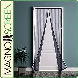 Park Ridge Products MSD3280 Magnetic Screen Door, 32x80, Black