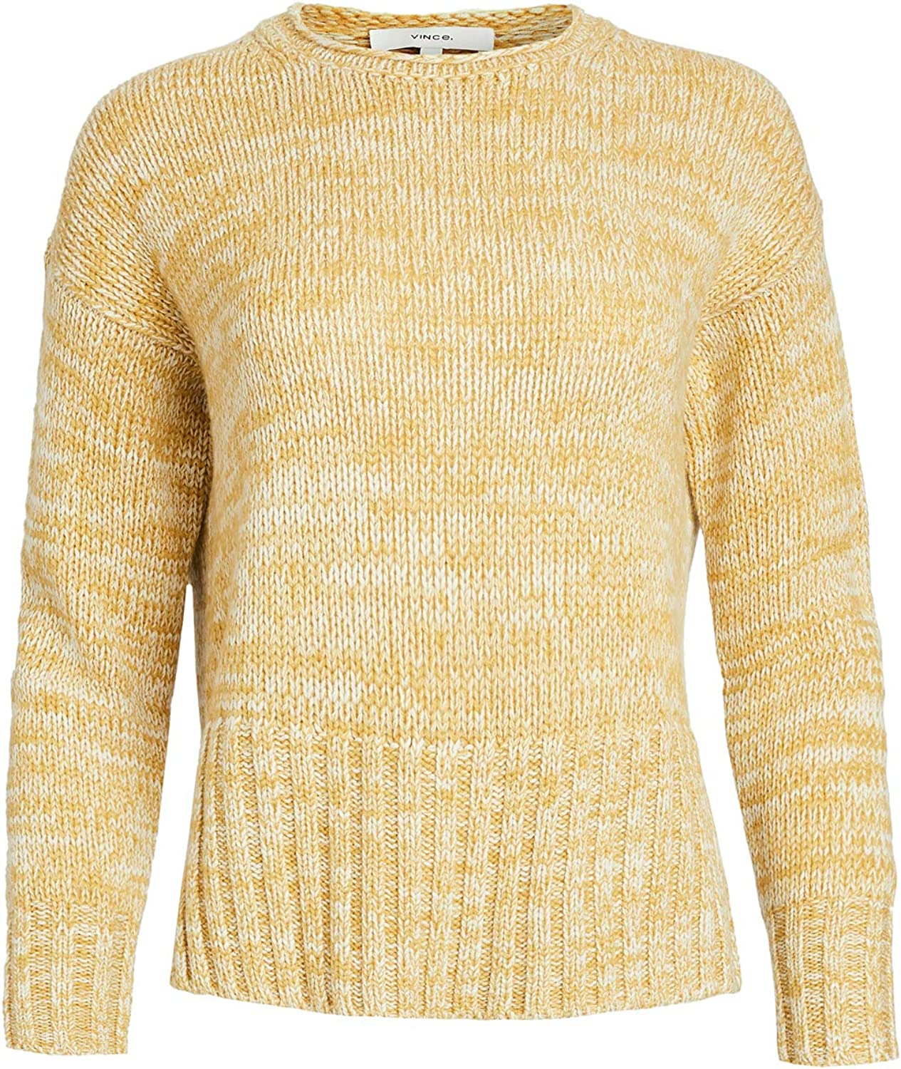 Vince Women's Marled Double Slit Crew