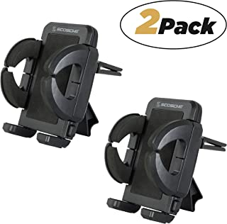 SCOSCHE IUH3-2PKBP0 VentMount Universal Vent Smartphone/GPS Mount for the Car – 2 Pack