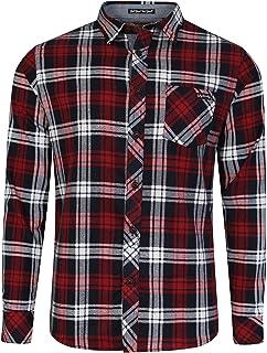 Amazon Es Camisa Cuadros Hombre Rojo