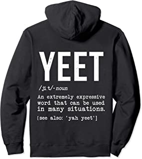 Yeet Definition Shirt For Men Women Funny Internet Dank Meme Pullover Hoodie