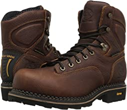 "Georgia Boot Logger 6"" Low Heel Comp Toe Waterproof"