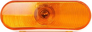 Grote 52893 Yellow Torsion Mount III Oval Stop Tail Turn Light (Front Park, Female Pin)