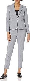 Tahari ASL Women's Double Welt Pocket Jacket and Pant Set