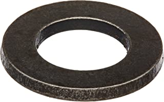 """18-8 Stainless Steel Flat Washer, Black Oxide Finish, 5/16"""" Hole Size, 11/32"""" ID, 3/4"""" OD, 0.05"""" Nominal Thickness (Pack of 100)"""