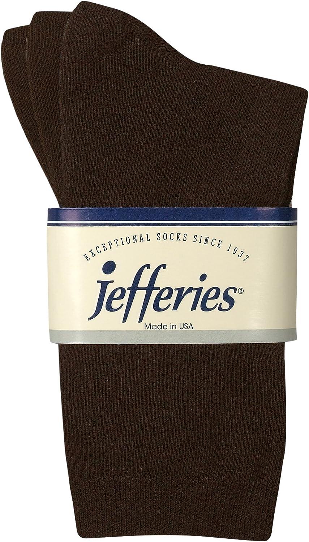 Jefferies Socks Womens Casual Cotton Multi Pack Dress Crew Work Socks 3 Pair Pack