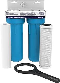 OMNI/Pentair OT32-S-05 OMNIFilter Drop-in Undersink Filter OT32, White/Blue - OT32-S-S06